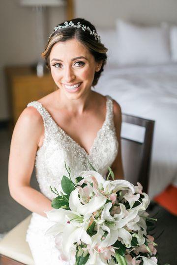 Beautiful bride kelly