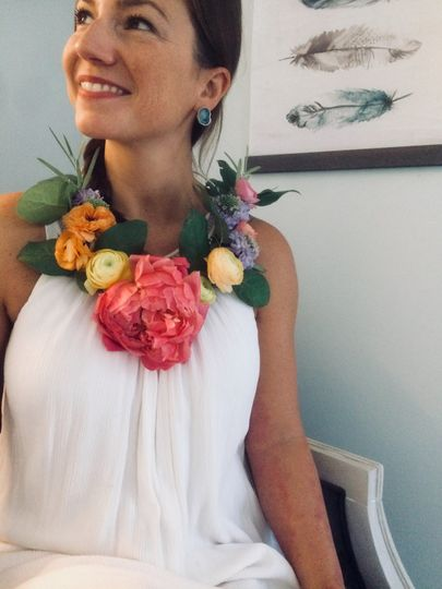 Wearable flowers