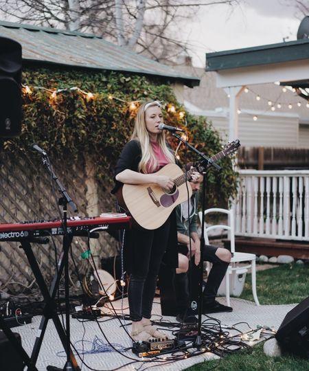 Garden musical reception