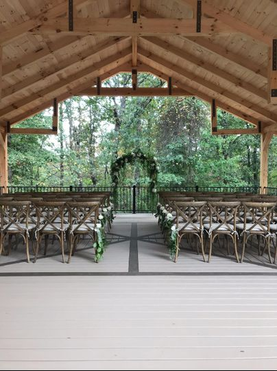 Pavilion Ceremony Space