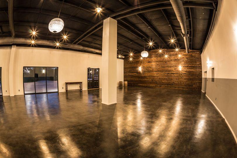 Indoor reception space