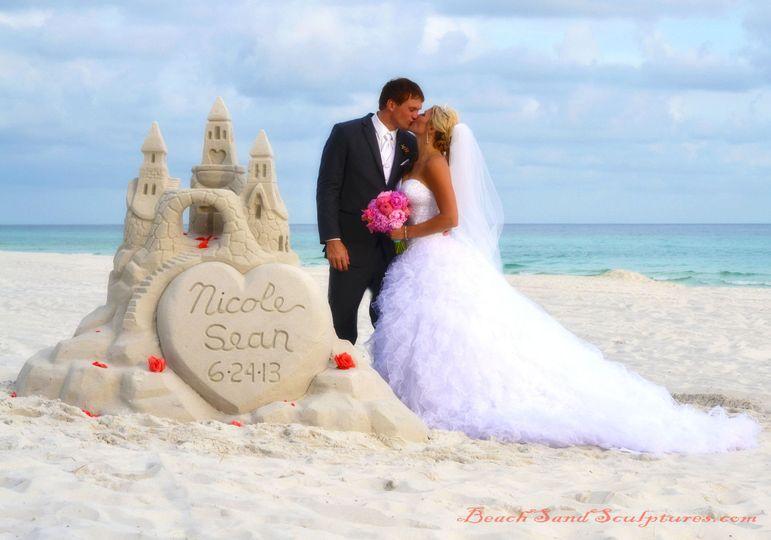 Beach Sand Sculptures