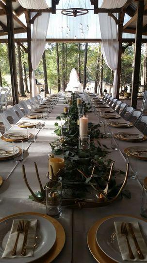 table setting hunts barn w bride 51 448061 162438091432979