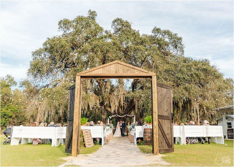 The Perfect Oak Tree Ceremony