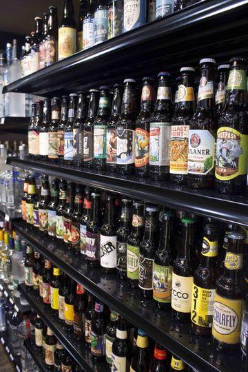 lakefront interior beer