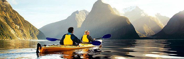 newzealnd kayak