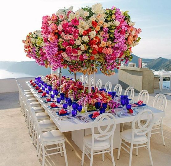 Large table decors