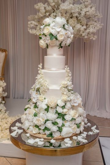 Titi & David's Wedding Cake