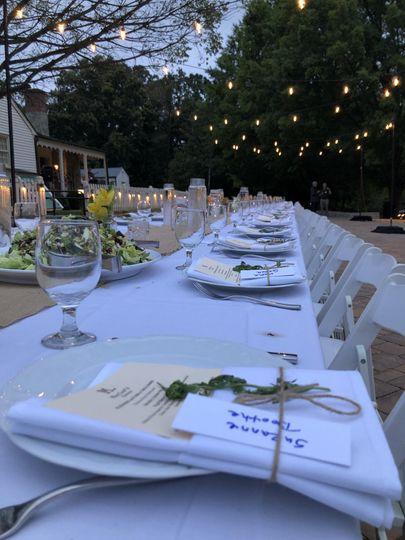 Estables Tables for dinner