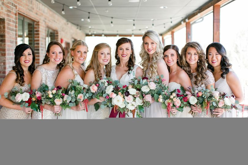Bridal party // Aubrey Marie Photography