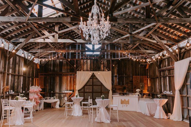 Beautiful inside barn