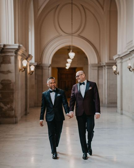 LGBTQ+ wedding, SF City Hall
