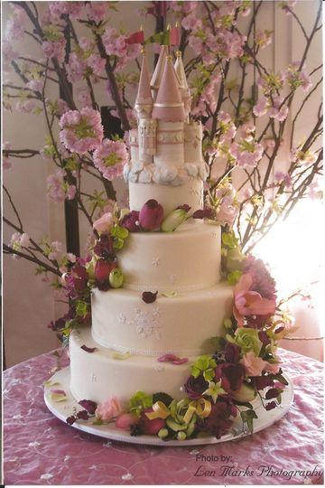 Fairtale Wedding cake