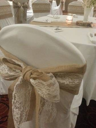 Tmx 1429022610280 Burlap Sash Raleigh wedding rental