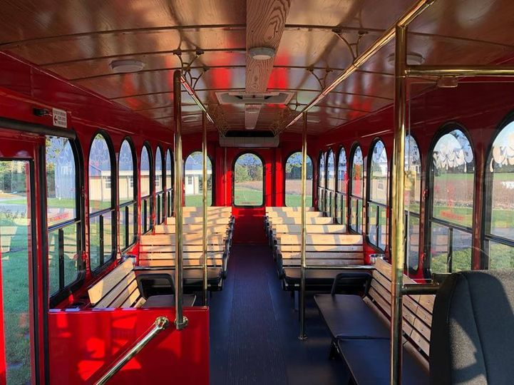 Trolley interiors