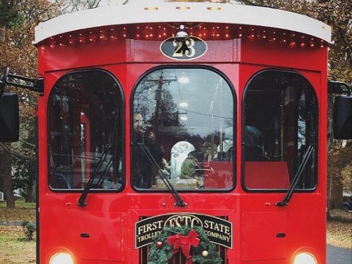 Tmx First State Trolley 02 51 1025161 Lewes, Delaware wedding transportation
