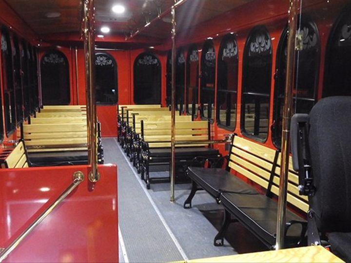 Tmx Insidetrolley2 51 1025161 Lewes, Delaware wedding transportation