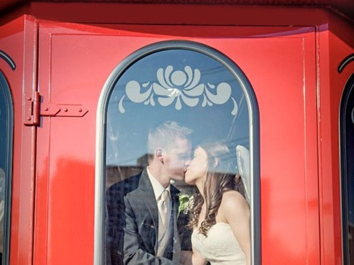 Tmx Just Married First Statetrolley 51 1025161 Lewes, Delaware wedding transportation