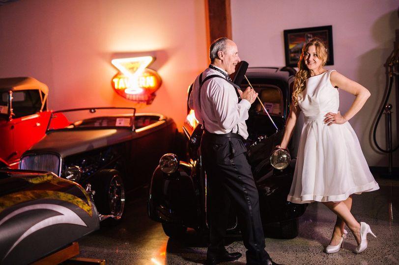 Jester Auto Wedding Bride & Gr