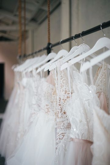Many dresses to choose from