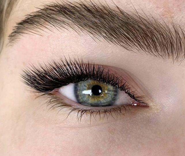 Long, full lashes