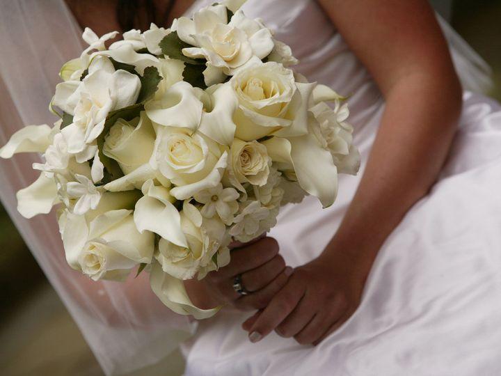 Tmx 1468522572551 White Bridal Bouquet With Gardenias Ardmore wedding florist