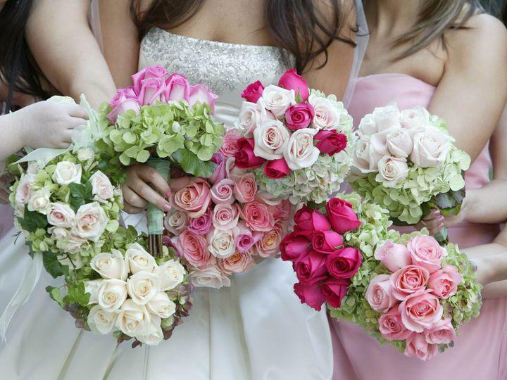 Tmx 1468522589758 Spring Bridesmaids Bouquets Ardmore wedding florist
