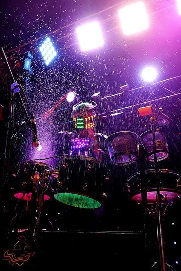 Band drummer