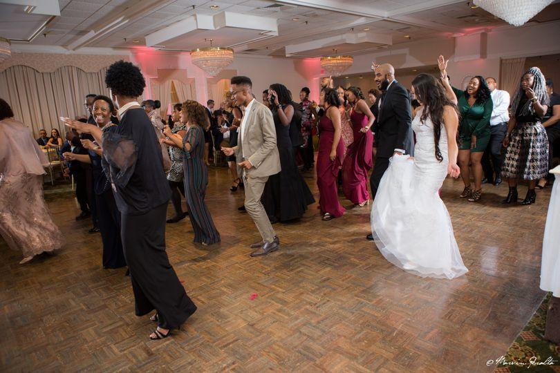 Dance floor energy