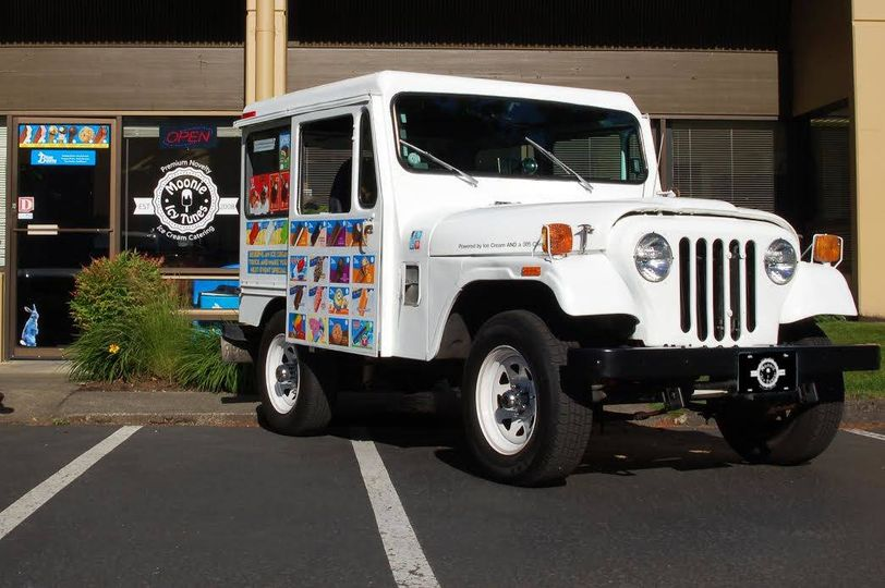 Traditional Ice cream Jeep