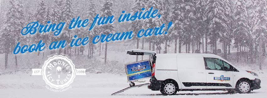Bring Ice cream cart indoors