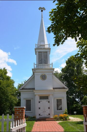 The Old Peace Chapel at the Historic Daniel Boone Home at Lindenwood Park is an elegant place to...