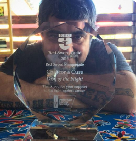 award chef for cure