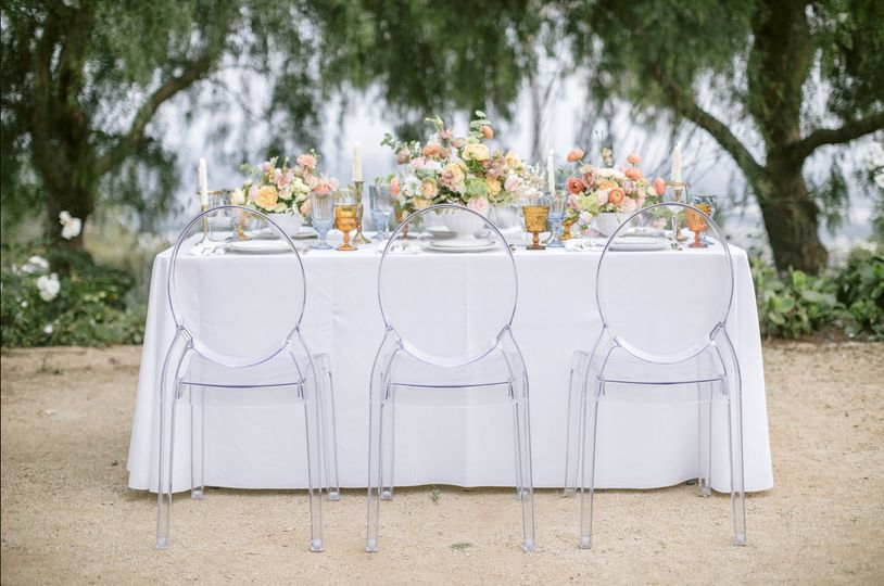 Elegant set-up