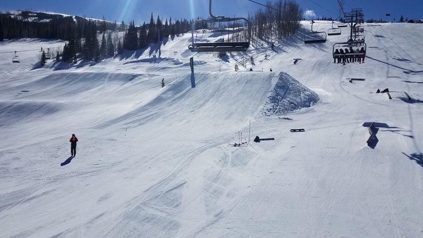 A snowy Aspen vacation