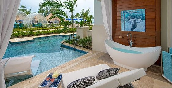 Sandals Swim Out Room