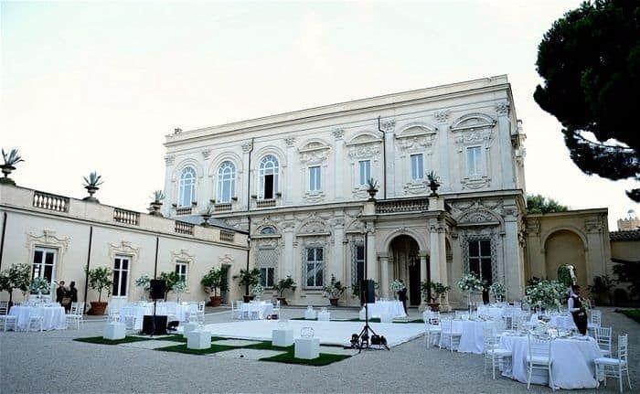 Italy Private Villa Wedding