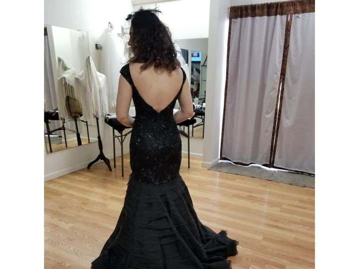 Tmx Black Wedding Gown 51 113261 V1 Kensington, District Of Columbia wedding dress