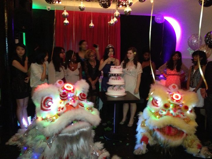 Sweet 16 with Lion Dance Group