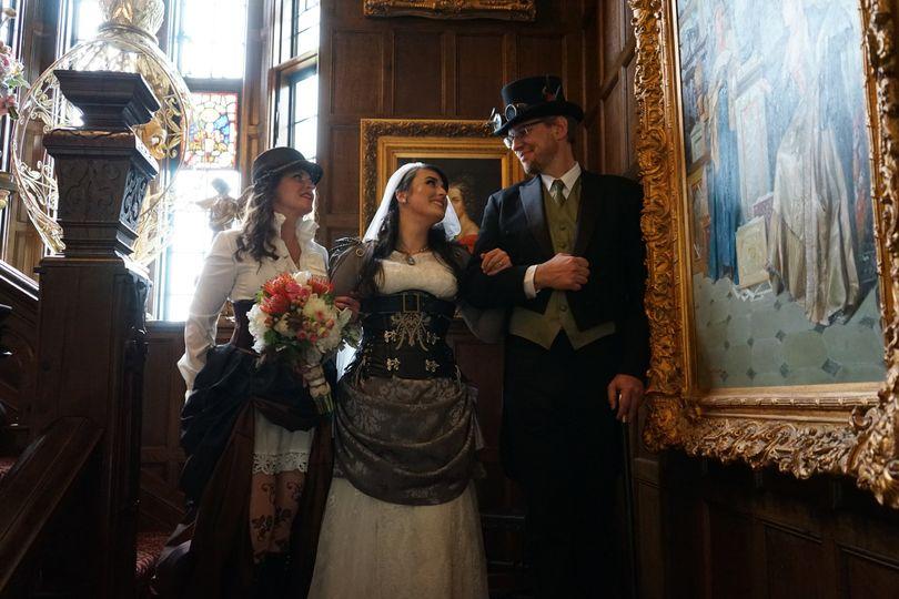 Bride & Proud Parents