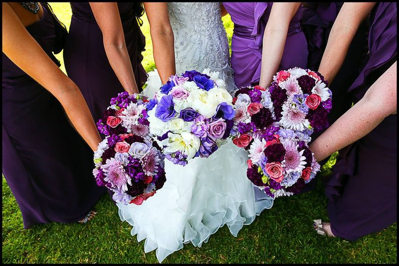 Sprigs Floral Wedding bouquets