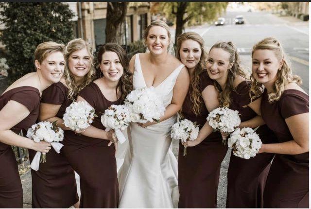 Wedding Party Hair