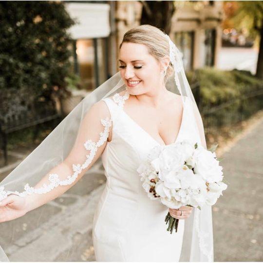 Bride's Hair (bun)