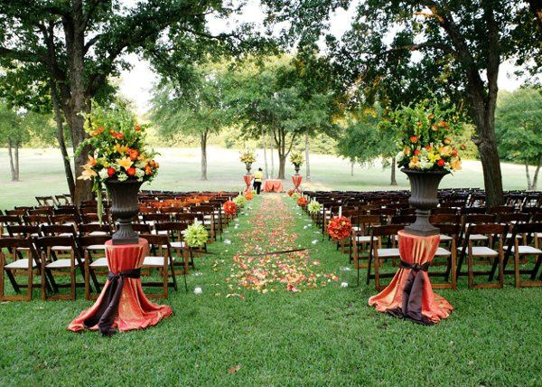 Simple elegance weddings and special events photos for Fall outdoor wedding reception ideas