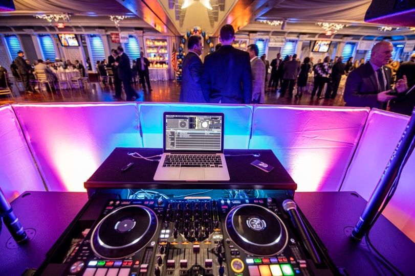 View from the decks