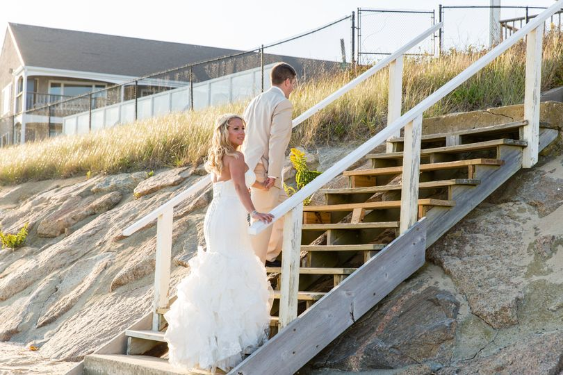 Post wedding moment