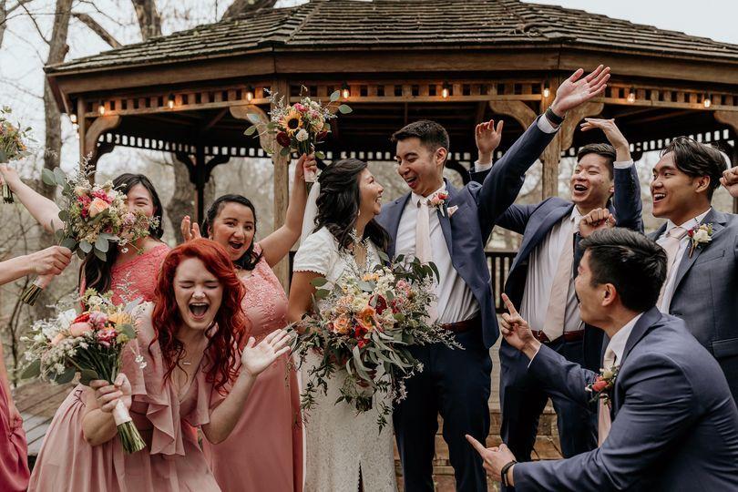C/K - elegant floral wedding