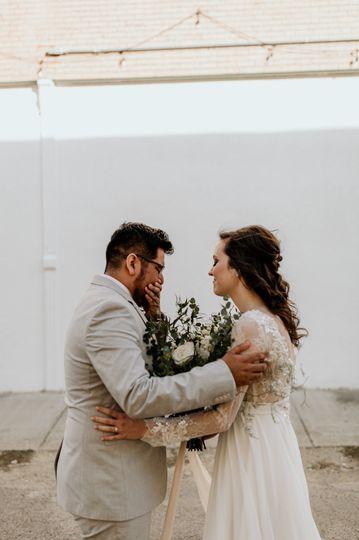 K/B - Texas warehouse wedding