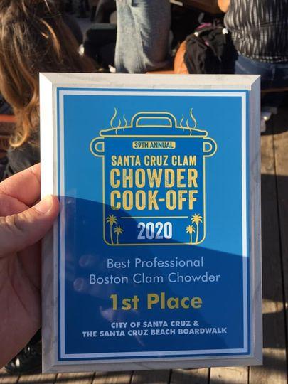 Santa Cruz Clam Chowder Cook-O