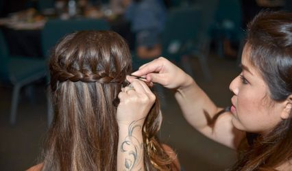 Wedding Hairstyles & Makeup